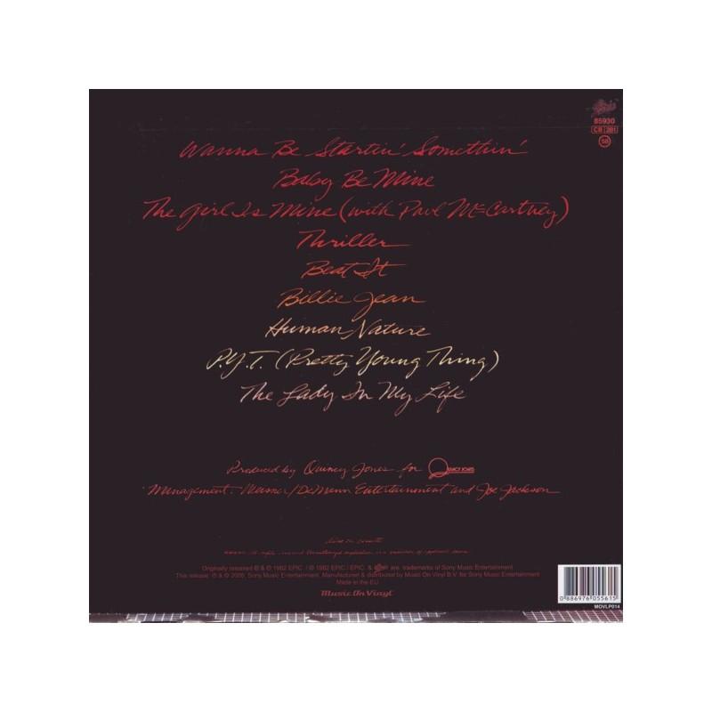 Jackson Michael Thriller 1 Lp Mov Edition 180