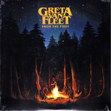 GRETA VAN FLEET - FROM THE FIRES (1 LP) - WYDANIE AMERYKAŃSKIE
