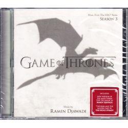 GAME OF THRONES: SEASON 3 [GRA O TRON: SEZON 3] - RAMIN DJAWADI (1 CD) - WYDANIE AMERYKAŃSKIE