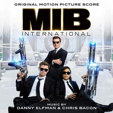 MEN IN BLACK: INTERNATIONAL [FACECI W CZERNI: INTERNATIONAL] - DANNY ELFMAN (1 LP)