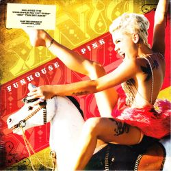 PINK [P!NK] - FUNHOUSE (2 LP) - LIMITED EDITION YELLOW VINYL PRESSING