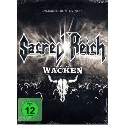 SACRED REICH - LIVE AT WACKEN (1 DVD + 1 CD) - DELUXE EDITION