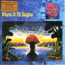ALLMAN BROTHERS BAND - WHERE IT ALL BEGINS (2 LP) - MOV EDITION - 180 GRAM BLUE VINYL PRESSING