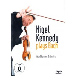 KENNEDY, NIGEL ‎– NIGEL KENNEDY PLAYS BACH (1 DVD)