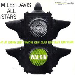 MILES DAVIS ALL STARS - WALKIN' (1 LP) - OJC EDITION - WYDANIE AMERYKAŃSKIE