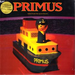 PRIMUS - TALES FROM THE PUNCHBOWL (2 LP) - LIMITED COLOR VINYL EDITION - WYDANIE AMERYKAŃSKIE