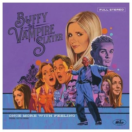 Buffy The Vampire Slayer: Once More With Feeling Soundtrack - Various Artists (Colored Vinyl LP)