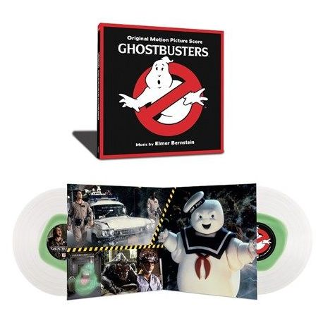 Elmer Bernstein - Ghostbusters: Original Motion Picture Score (Colored Vinyl 2LP)