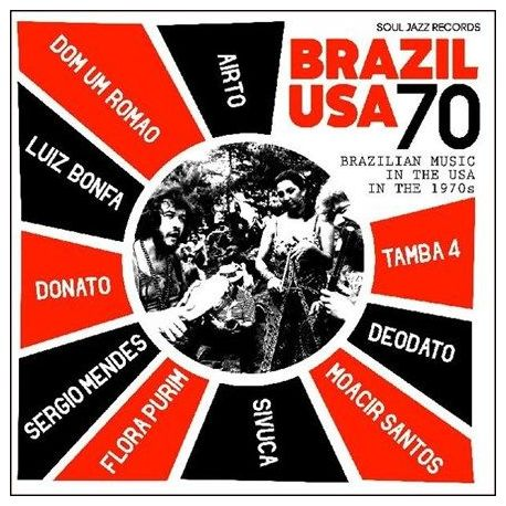 Brazil USA 70: Brazilian Music in the USA in the 1970's - Various Artists (Vinyl 2LP)