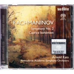 RACHMANINOV, SERGEI – SYMPHONY NO. 2 / CAPRICE BOHÉMIEN - NOVOSIBIRSK ACADEMIC SYMPHONY ORCHESTRA, ARNOLD KATS (1 SACD)