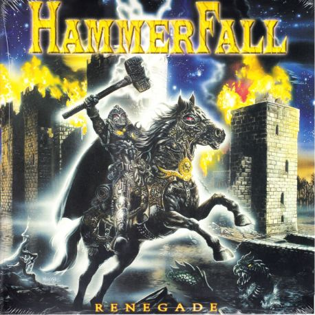 HAMMERFALL - RENEGADE (1 LP) - LIMITED EDITION - SPLATTER