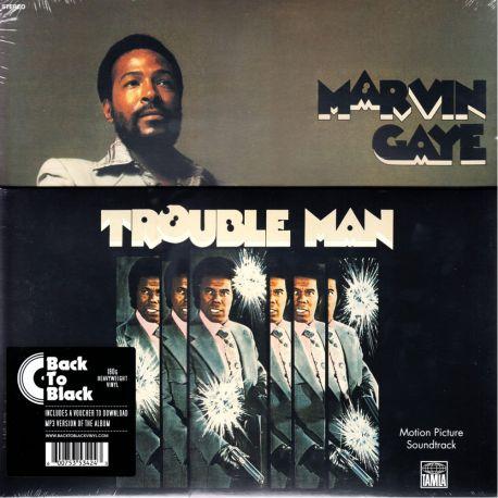 TROUBLE MAN - MARVIN GAYE (1 LP) - 180 GRAM PRESSING - WYDANIE AMERYKAŃSKIE