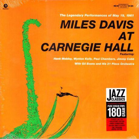 DAVIS, MILES – MILES DAVIS AT CARNEGIE HALL (1 LP) - WAX TIME EDITION - 180 GRAM PRESSING