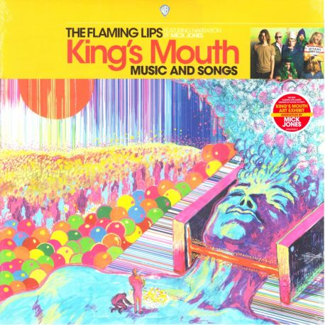 FLAMING LIPS, THE FEATURING NARRATION BY MICK JONES – KING'S MOUTH: MUSIC AND SONGS (1 LP) - WYDANIE AMERYKAŃSKE
