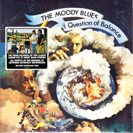 MOODY BLUES, THE – A QUESTION OF BALANCE (1 LP) - 180 GRAM PRESSING