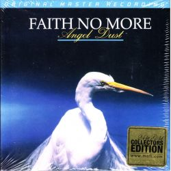 FAITH NO MORE - ANGEL DUST (1 CD) - LIMITED MFSL 24KT GOLD EDITION - WYDANIE AMERYKAŃSKIE