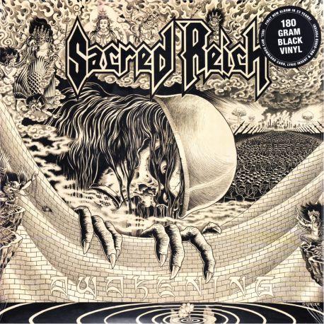 SACRED REICH - AWAKENING (1 LP) - COLOURED VINYL PRESSING