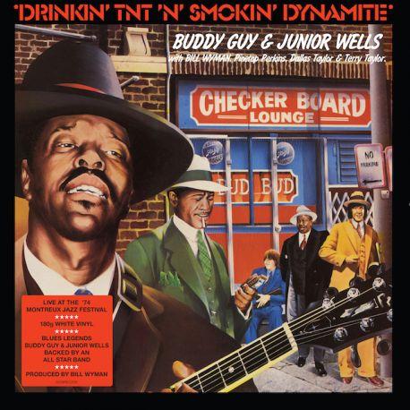 GUY, BUDDY & JUNIOR WELLS – DRINKIN' TNT 'N' SMOKIN' DYNAMITE (1 LP) - COLOURED VINYL PRESSING