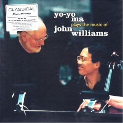 MA, YO-YO - YO-YO MA PLAYS THE MUSIC OF JOHN WILLIAMS (2 LP) - MOV EDITION - 180 GRAM PRESSING