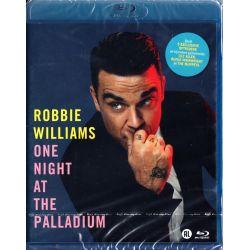 WILLIAMS, ROBBIE - ONE NIGHT AT THE PALLADIUM (1 BLU-RAY)