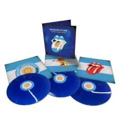 ROLLING STONES - BRIDGES TO BUENOS AIRES (3 LP) TRANSLUCENT BLUE VINYL PRESSING