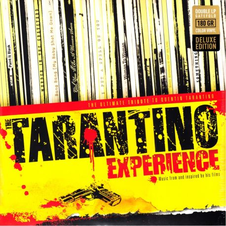 TARANTINO EXPERIENCE (2 LP) LIMITED EDITION RED YELLOW WINYL PRESSING
