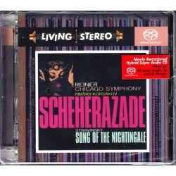 RIMSKY-KORSAKOV / STRAVINSKY – SCHEHERAZADE/SONG OF THE NIGHTINGALE (1 SACD) - WYDANIE AMERYKAŃSKIE