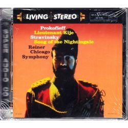 PROKOFIEFF / STRAVINSKY - LIEUTENANT KIJE / SONG OF THE NIGHTINGALE - FRITZ REINER (1 SACD) - WYDANIE AMERYKAŃSKIE