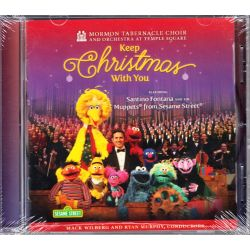 MORMON TABERNACLE CHOIR & SANTINO FONTANA - SESAME STREET MUPPETS: KEEP CHRISTMAS WITH YOU - (1 CD) - WYDANIE AMERYKAŃSKIE