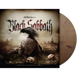 BLACK SABBATH - MANY FACES OF BLACK SABBATH(2 LP) - LIMITED BLACKGOLD SPLATTER