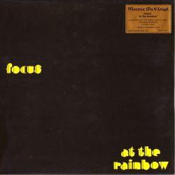 FOCUS - AT THE RAINBOW (1 LP) - MOV LIMITED EDITION - 180 GRAM YELLOW VINYL PRESSING