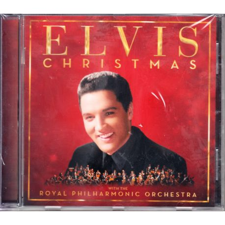 PRESLEY, ELVIS ‎– CHRISTMAS WITH ELVIS AND THE ROYAL PHILHARMONIC ORCHESTRA ‎(1 CD)
