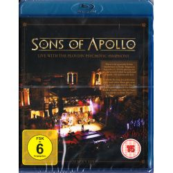 SONS OF APOLLO - LIVE WITH THE PLOVDIV PSYCHOTIC SYMPHONY (1 BLU-RAY)
