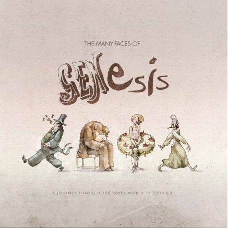 GENESIS - MANY FACES OF GENESIS (2 LP) - LIMITED EDITION 180 GRAM COLOURED VINYL PRESSING