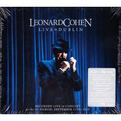 LEONARD COHEN – LIVE IN DUBLIN (3 CD + 1 BLU-RAY)