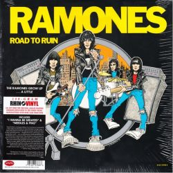 RAMONES - ROAD TO RUIN (1LP) - RHINO VINYL EDITION - 180 GRAM PRESSING