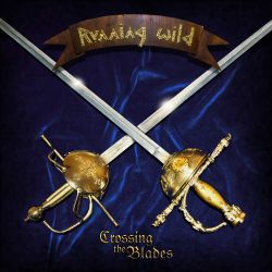 RUNNING WILD - CROSSING THE BLADES EP (1 LP) - 180 GRAM BLUE VINYL PRESSING
