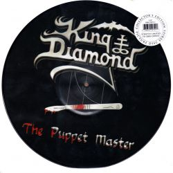 KING DIAMOND ‎- THE PUPPET MASTER (2 LP) - LIMITED EDITION PICTURE DISC