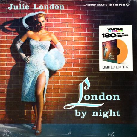 LONDON, JULIE - LONDON BY NIGHT (1 LP) - WAX TIME COLOURED EDITION - 180 GRAM PRESSING