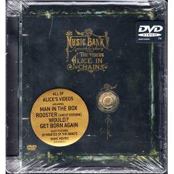 ALICE IN CHAINS - MUSIC BANK - THE VIDEOS (1 DVD) - WYDANIE AMERYKAŃSKIE