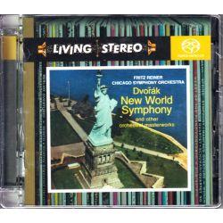 DVORAK, ANTONIN - NEW WORLD SYMPHONY - FRITZ REINER & CHICAGO SYMPHONY ORCHESTRA (1 SACD) - LIVING STEREO SERIES