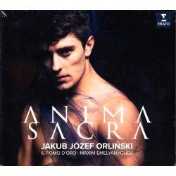 ORLIŃSKI, JAKUB JÓZEF, IL POMO D'ORO, MAXIM EMELYANYCHEV - ANIMA SACRA (1 CD)