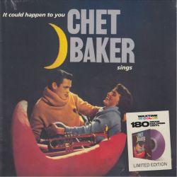 BAKER, CHET - CHET BAKER SINGS IT COULD HAPPEN TO YOU (1 LP) - WAXTIME IN COLOR EDITION - 180 GRAM PURPLE VINYL PRESSING