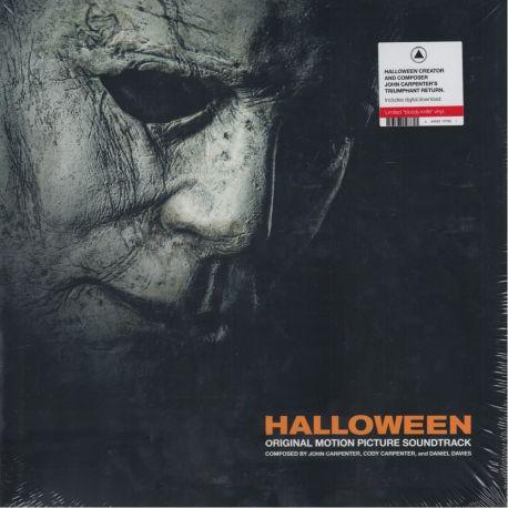 """HALLOWEEN - JOHN CARPENTER (1 LP) - LIMITED """"BLOODY KNIFE"""" VINYL - WYDANIE AMERYKAŃSKIE"""