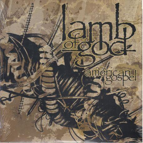 LAMB OF GOD - NEW AMERICAN GOSPEL (1 LP) - WYDANIE AMERYKAŃSKIE