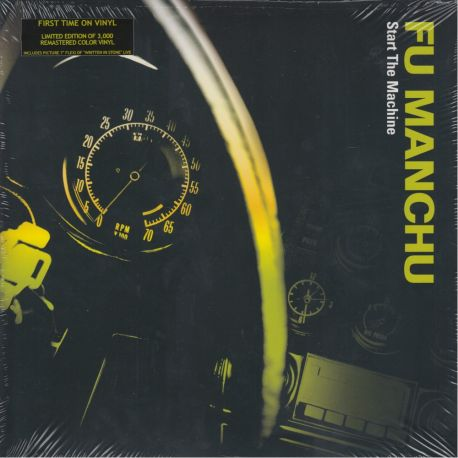 FU MANCHU - START THE MACHINE (1 LP)
