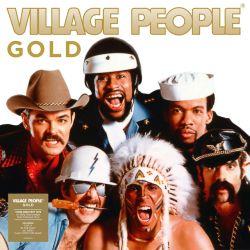 VILLAGE PEOPLE – GOLD (1 LP) - GOLD VINYL PRESSING
