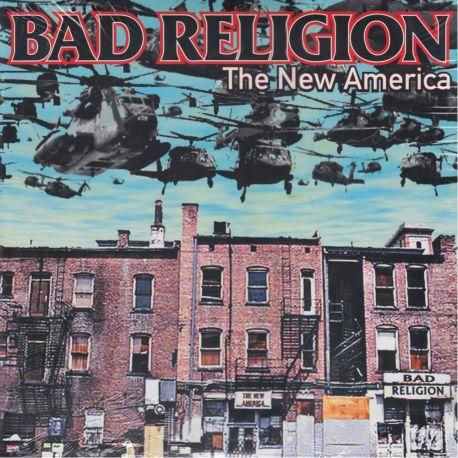 BAD RELIGION - THE NEW AMERICA (1 LP) - WYDANIE AMERYKAŃSKE