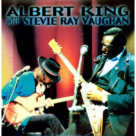 King Albert With Stevie Ray Vaughan In Session 1 Lp