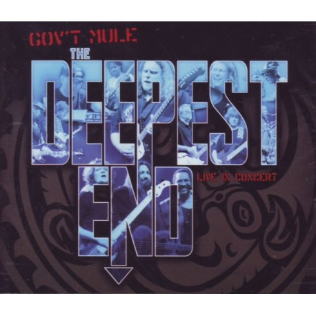 GOV\'T MULE - THE DEEPEST END LIVE (2CD+DVD)